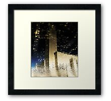 Reflected Modernism Framed Print