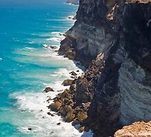 Great Australian Bight - Cliffs on the Nullabor - South Australia by Paul Gilbert