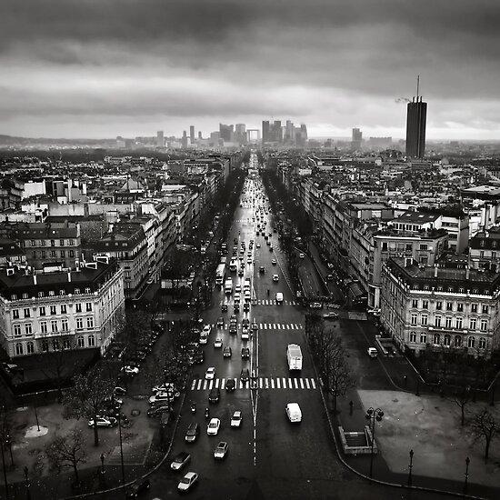 Paris cityscape by Kostas Pavlis