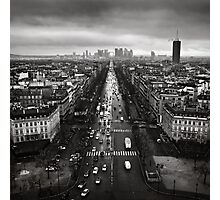 Paris cityscape Photographic Print