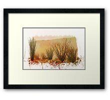 My Painted Desert Framed Print