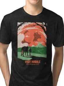 Visit Hyrule Tri-blend T-Shirt