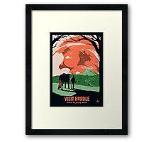 Visit Hyrule Framed Print