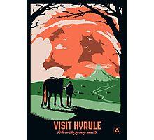 Visit Hyrule Photographic Print