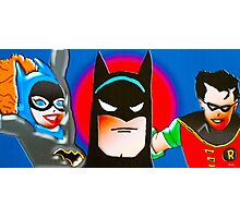 calling all superheroes Photographic Print