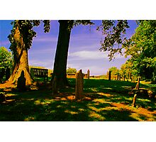 Headstones on a Hill Photographic Print