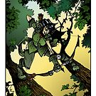 Tree Hunter (color) by tofnewrealm