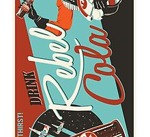 Rebel Cola Star Wars Case by profGraphics