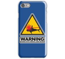 Sharks with Frikkin Laser Beams iPhone Case/Skin