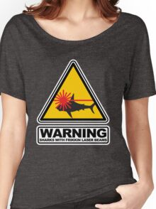 Sharks with Frikkin Laser Beams Women's Relaxed Fit T-Shirt