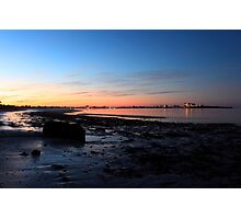 sunrise on the beach Photographic Print