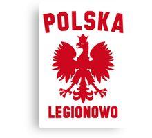 POLSKA LEGIONOWO Canvas Print