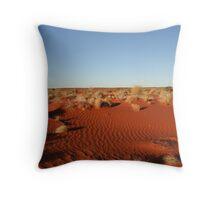 Somewhere in the Simpson Desert... Throw Pillow