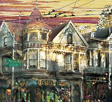 "Haight Ashbury ""barchaProcess"" by barcha"