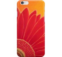 Red and Yellow Gerbera iPhone Case/Skin