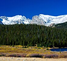 Rocky Mountains - Indian Peaks by Bo Insogna