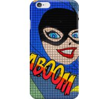 Batgirl number two iPhone Case/Skin