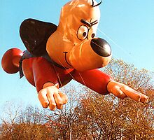 Thanksgiving Parade 1984 Underdog by Jonathan  Green