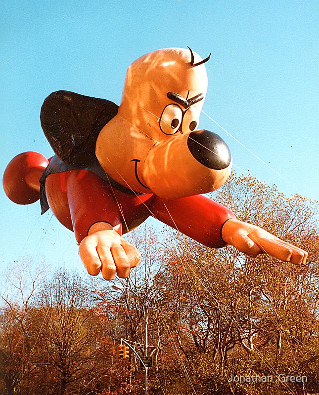 Thanksgiving Parade 1984 Underdog by Jonathan  Green