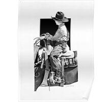 Rodeo Boy Jr. Rider. Poster