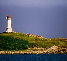 The Point At Louisbourg by Bradley Nichol
