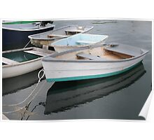 Kennebunkport Row Boats Poster