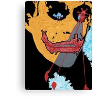 the Joker number seven Canvas Print