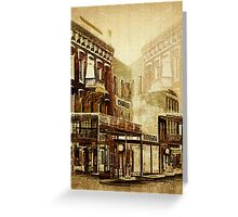 Wild West Revisited Greeting Card