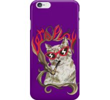 Lazy CAT art iPhone Case/Skin