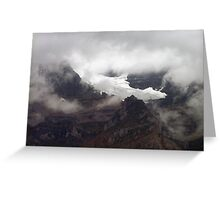 Rock,Ice and Storm Greeting Card