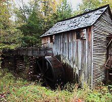 Grist Mill  by kathy s gillentine