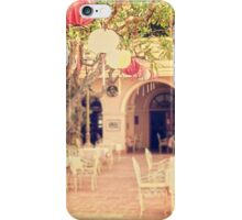 Courtyard at the Hotel Continental iPhone Case/Skin