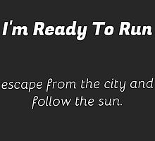 I'm Ready To Run by TimonPower77