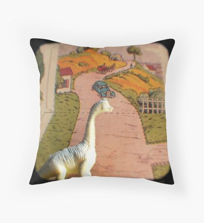 An Afternoon in the French Countryside Throw Pillow