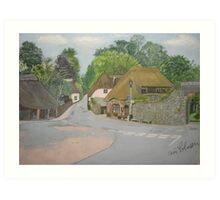 Cockington - Torquay Art Print