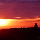 Lancaster Sunset by beanphoto