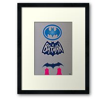 Batman and beyond Framed Print