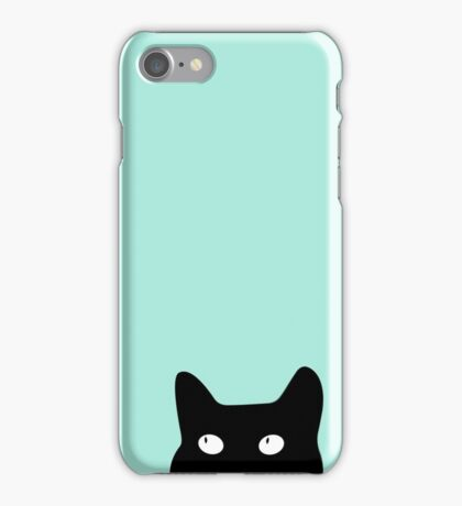 Hiding Kitty Cat iPhone Case/Skin