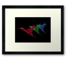 RGB Framed Print