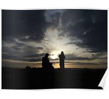 Sunset At Glenmore Poster
