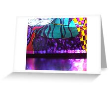 glass detail 1 Greeting Card