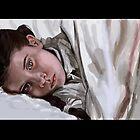 Digital portrait from a film still by Agnes Hamilton