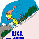 "Rick the chick ""WINTER GAMES"" by CLAUDIO COSTA"