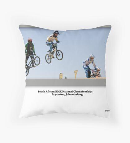BXM Nationals South Africa Throw Pillow