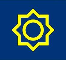 Flag of Seoul, 1947-1996  by abbeyz71