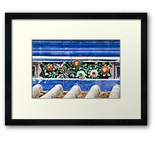 From Bowls to Flowers Framed Print