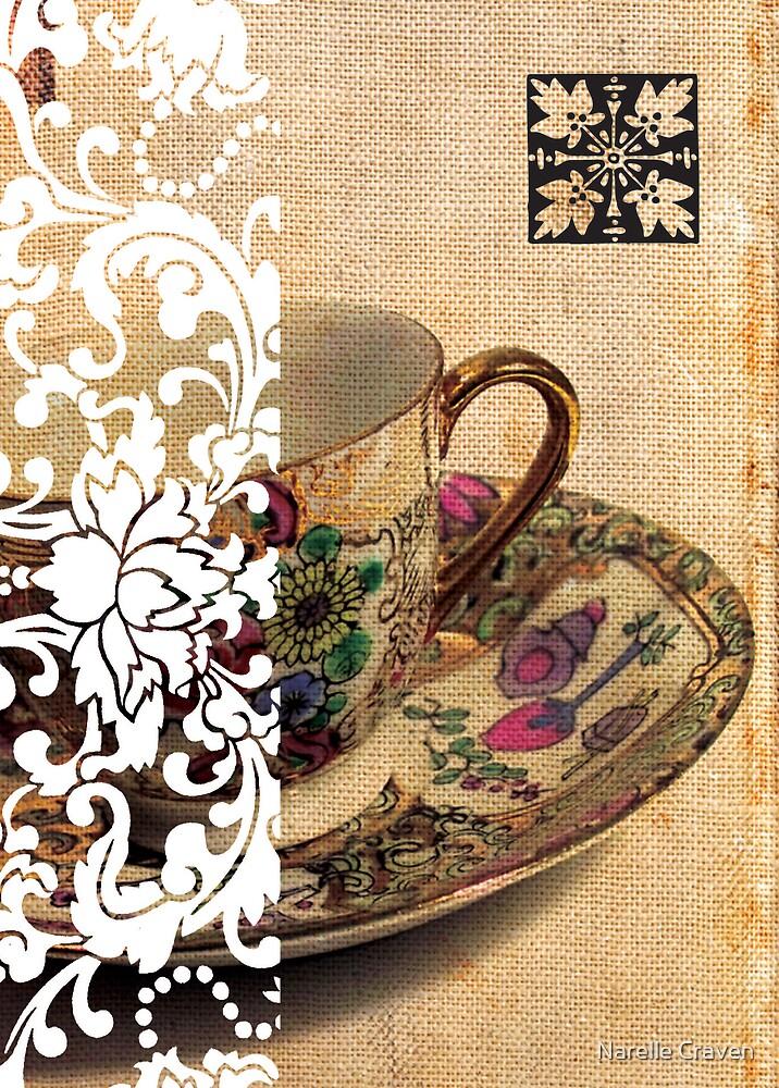teacup by Narelle Craven