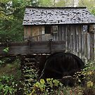 The John Cable Grist Mill by kathy s gillentine