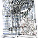 Il Leone di S. Lorenzo by Luca Massone  disegni