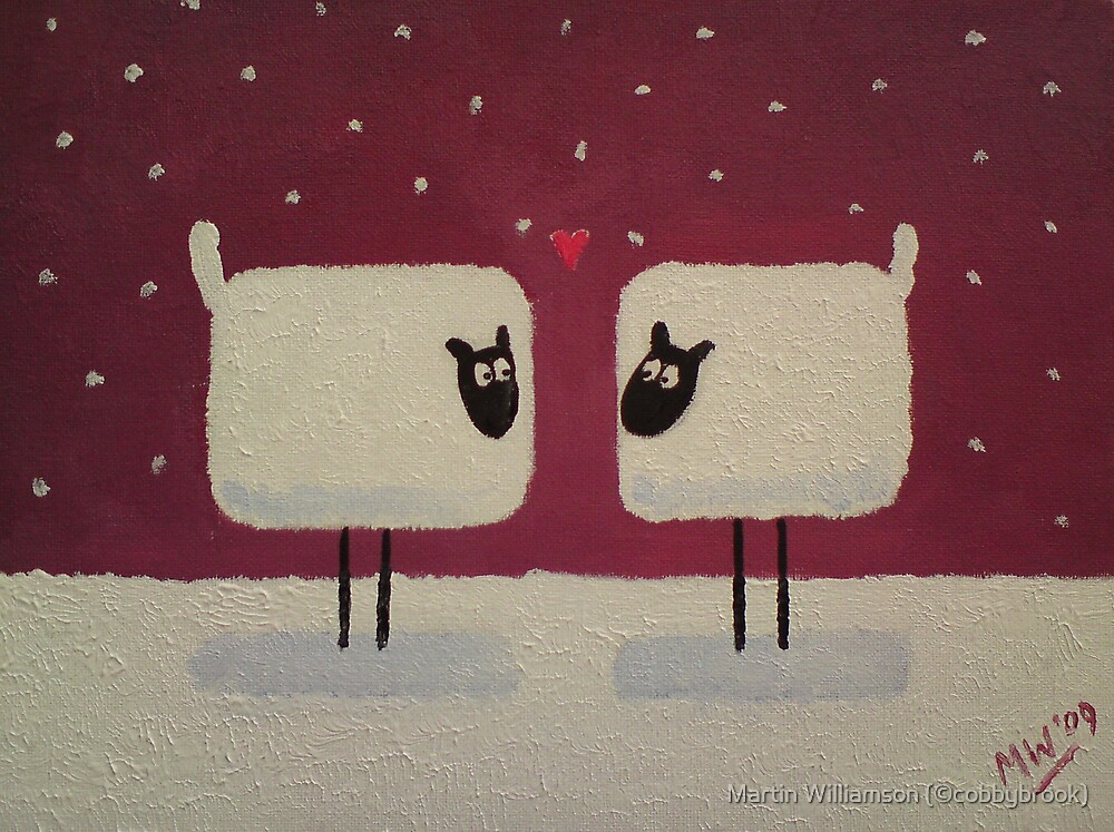 'Season's Greetings To Ewe!' by Martin Williamson (©cobbybrook)